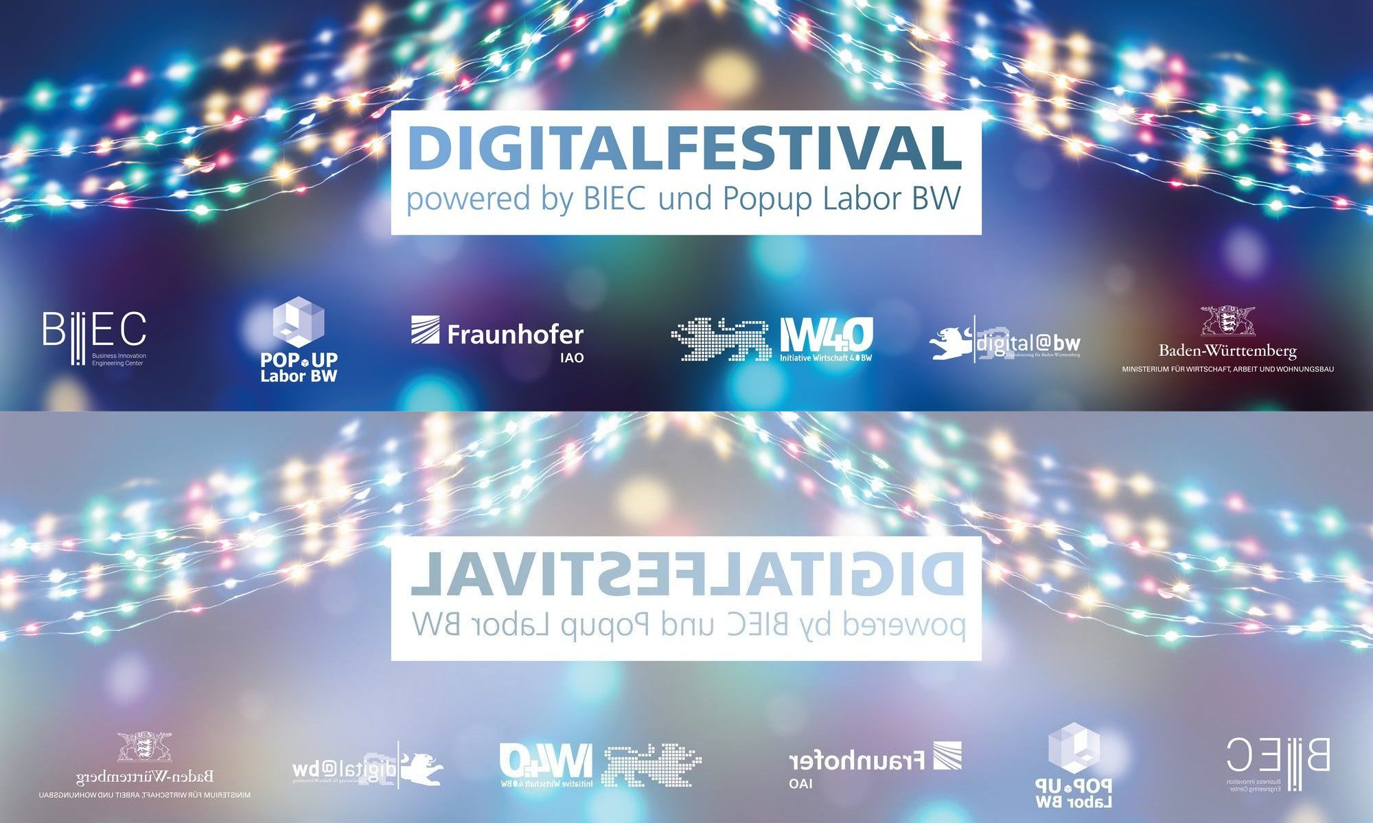 Digitalfestival – powered by BIEC und Popup Labor BW